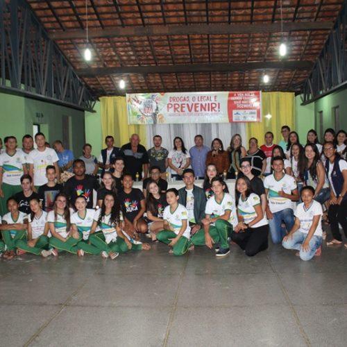 Secretaria de Assistência Social de Alagoinha do Piauí realiza ação de combate e prevenção às drogas