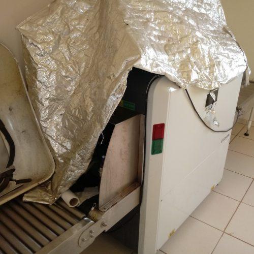 Máquina de raio X utilizada em vistorias está quebrada há mais de um ano em presídio no Sul do Piauí