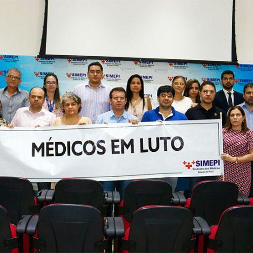 Pela terceira vez, médicos do Piauí suspendem atendimentos por três dias