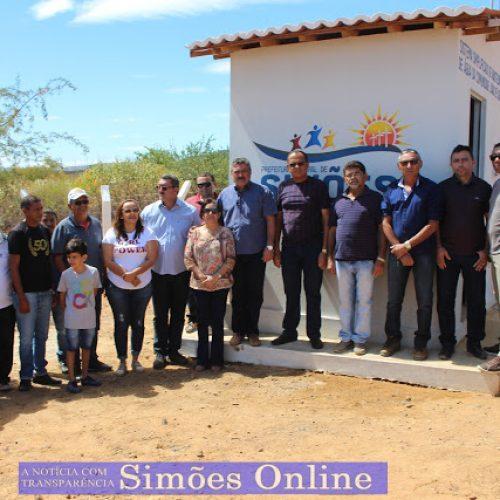 Prefeitura de Simões entrega poço tubular na comunidade Sítio João de Sousa