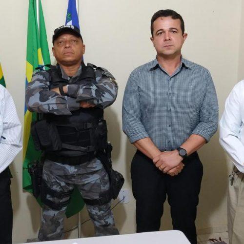 Grupamento de Polícia de Sussuapara tem novo comandante