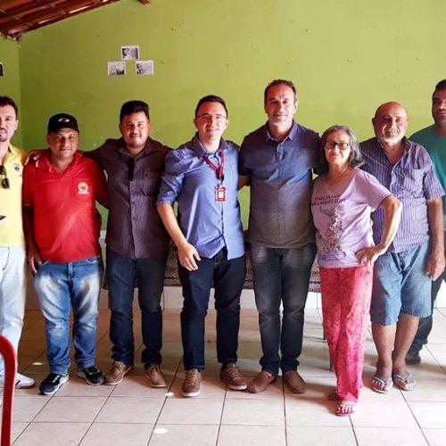 ALAGOINHA | Prefeito Jorismar Rocha se reúne com agentes do BNB para tratar sobre melhorias na cajucultura