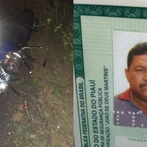 Homem morre em acidente na rodovia que liga Oeiras a Santa Cruz do Piauí