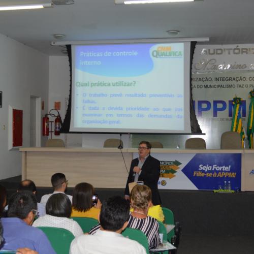 APPM, CNM e Escola dos Municípios do Piauí promovem curso de Controle Interno