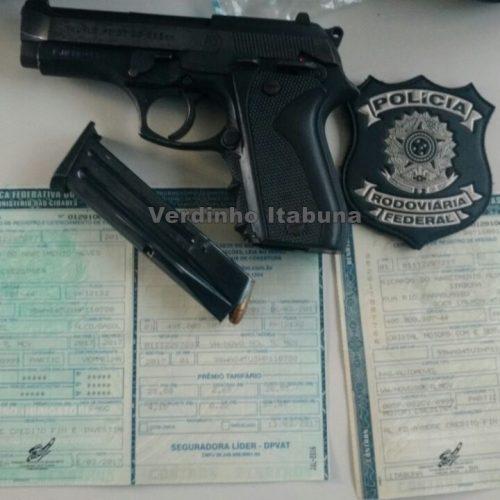 Homem procurado pela polícia é preso com arma e documento falso no Piauí