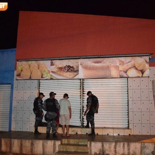 Comércio é arrombado no Centro de Picos