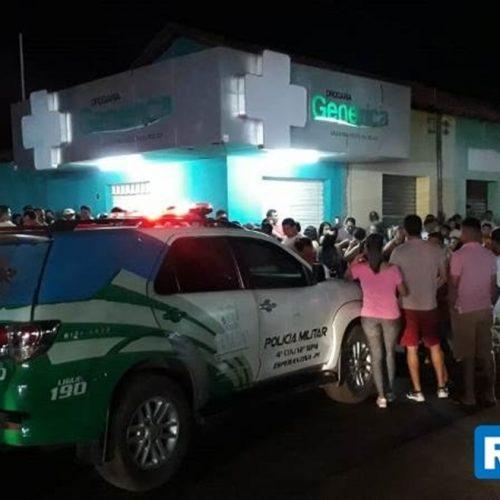 Assaltante é morto dentro de farmácia em cidade do Piauí