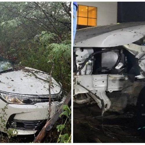 Ex-integrante do Limão com Mel, Batista Lima sofre acidente de carro com esposa