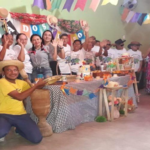 Social de Vera Mendes promove arraiá para idosos assistidos pelo CRAS