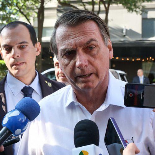 Bolsonaro sugere que dados do desmatamento passem por ele antes de serem divulgados