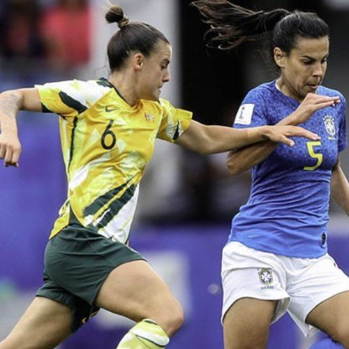 Austrália vira o jogo e vence o Brasil por 3 a 2