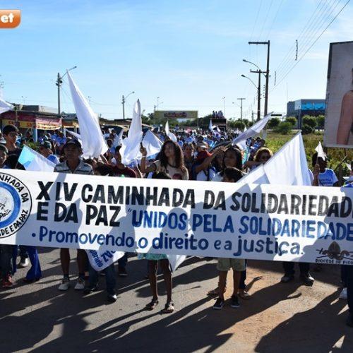 Igreja Católica realiza XIV Caminhada da Solidariedade e da Paz em Picos