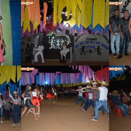 Festival Junino de Vera Mendes é realizado com apresentações culturais na escola da localidade Sítio do Meio