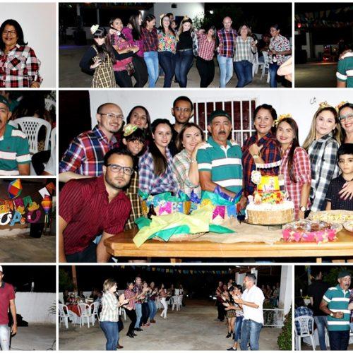 Secretaria de Educação de Fronteiras promove Arraiá e celebra aniversário de Seu João; veja fotos
