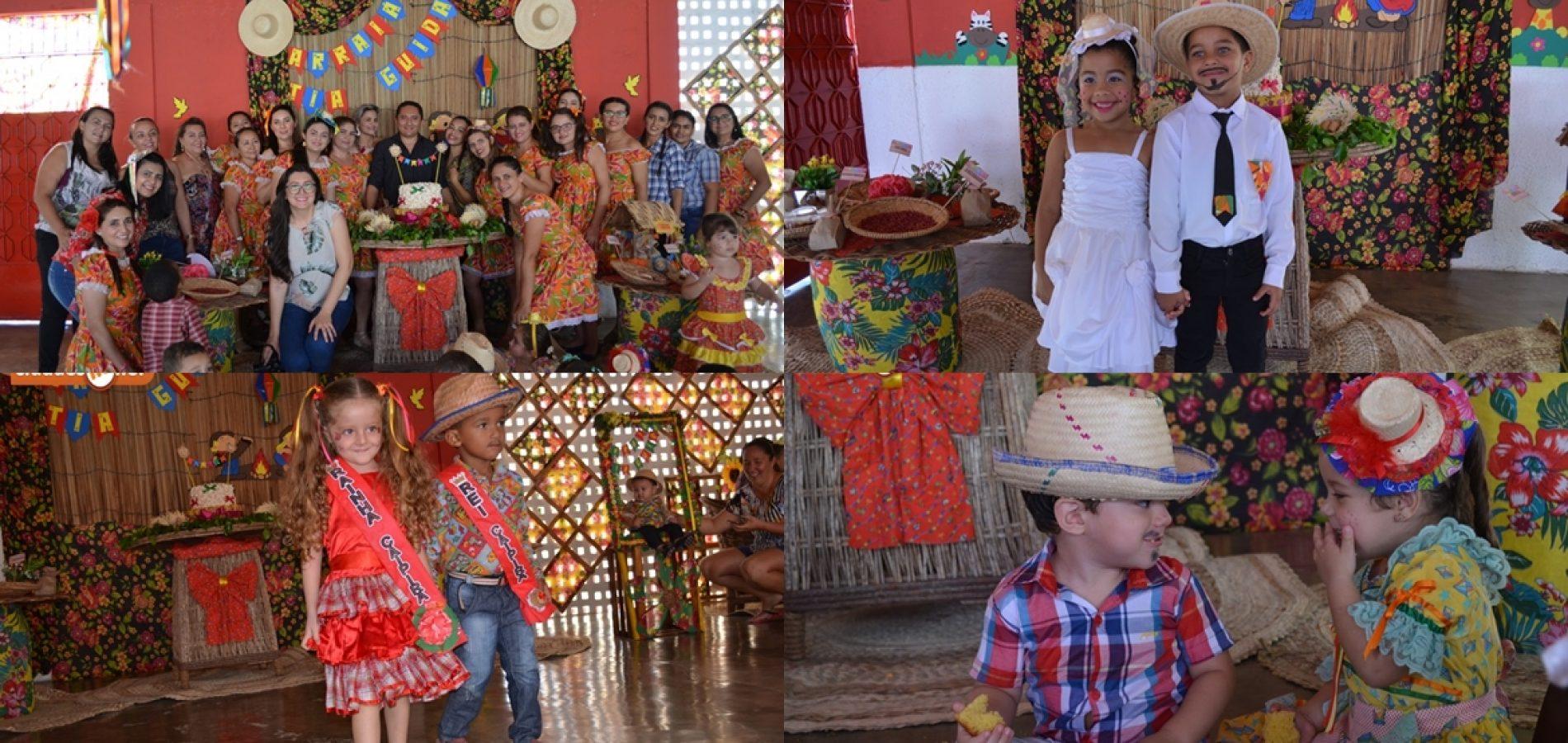 Arraiá da Creche Tia Guida leva cultura e diversão para crianças em Padre Marcos