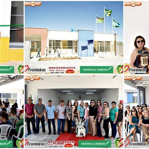 FRONTEIRAS 84 ANOS│Prefeita Maria José entrega escola padrão MEC para Educação Municipal; veja fotos