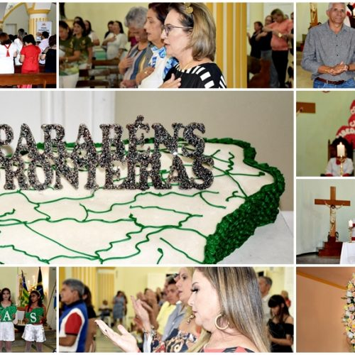 FRONTEIRAS 84 ANOS│Missa em ação de graças celebra aniversário de emancipação política; veja fotos