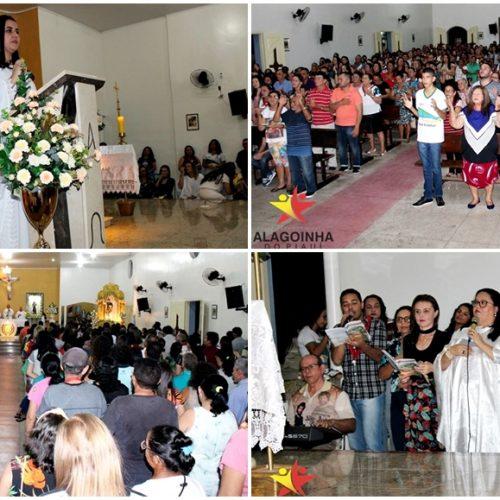 ALAGOINHA | Educação Municipal, Estadual, Particular, Catequese e grupo São Francisco marcam 7ª noite do festejo; fotos