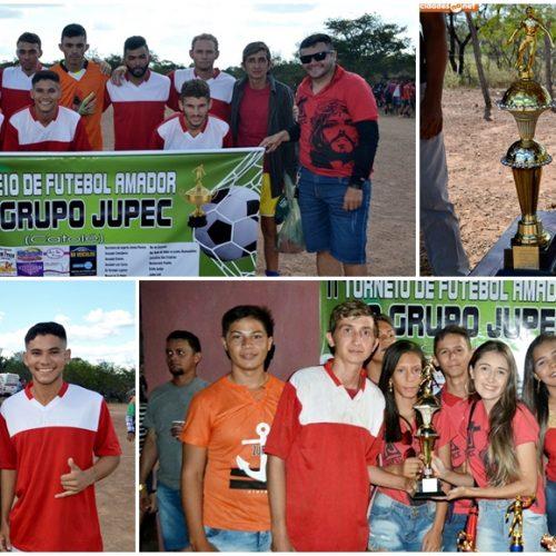 ALEGRETE│Flor de Catolé é campeão do 2º Torneio de Futebol Amador do grupo JUPEC