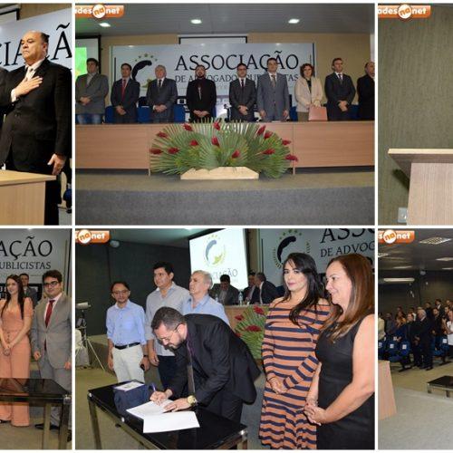 PICOS│Maycon Luz é empossado presidente da Associação dos Advogados Publicistas do Centro Sul; fotos