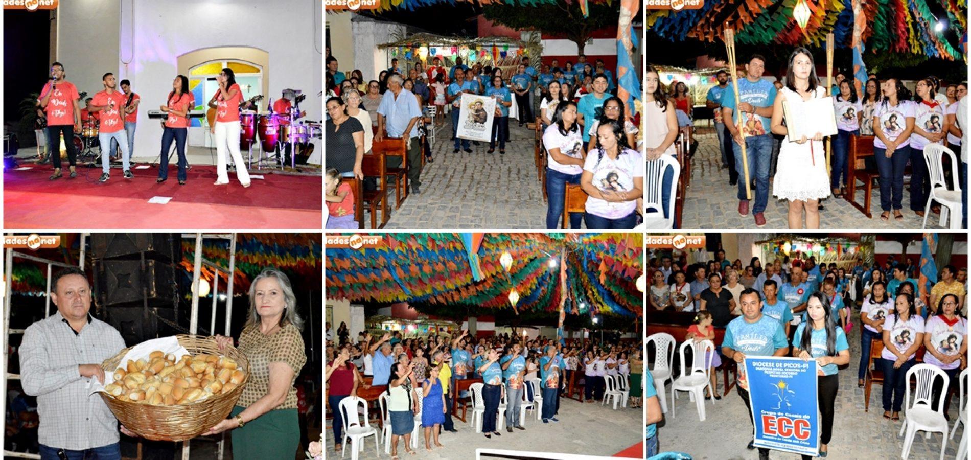 Banda Shalom faz show católico no festejo de Santo Antonio em Vila Nova do Piauí; veja fotos