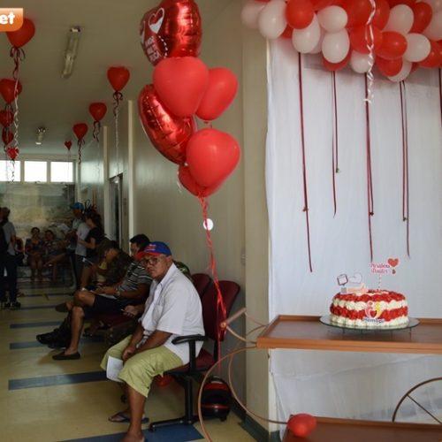 Hemocentro de Picos celebra Dia Mundial do Doador com voluntários