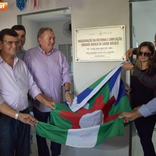 Prefeitura de Picos entrega três UBS's em comunidades da zona rural