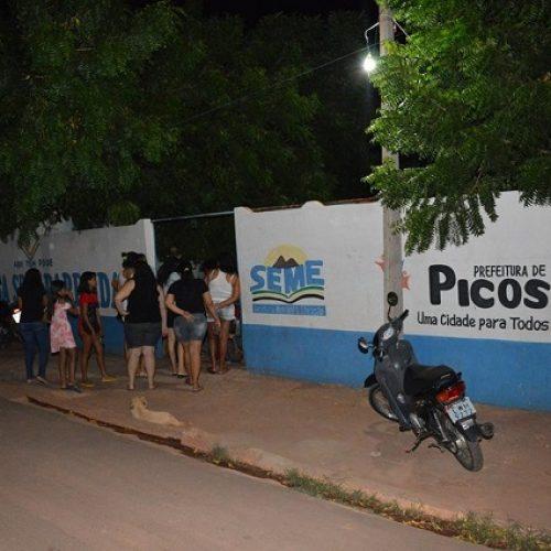 PICOS | Escola municipal do Morro da AABB é roubada pela terceira vez