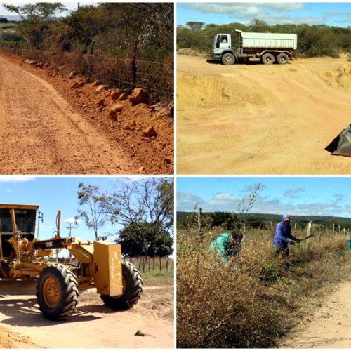 Prefeitura de Caldeirão Grande do Piauí investe na melhoria das estradas vicinais