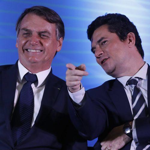 Bolsonaro descarta possibilidade de desmembrar ministério comandado por Moro