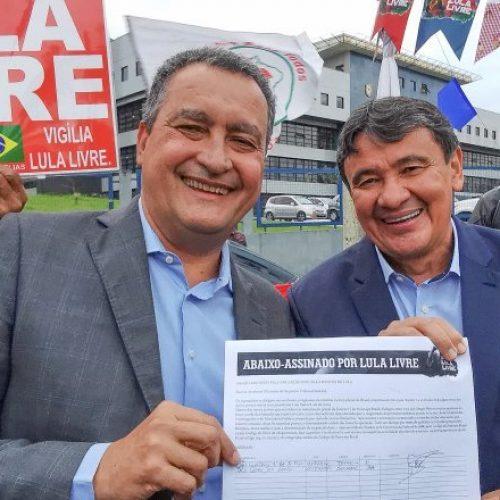 W.Dias e Rui Costa assinam abaixo-assinado pela liberdade de Lula