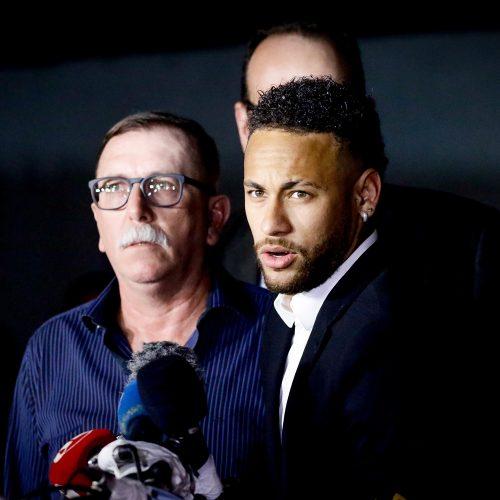 'A verdade aparece cedo ou tarde', afirma Neymar após depoimento