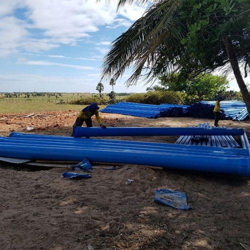 Piauí: obra da adutora do litoral será retomada em julho