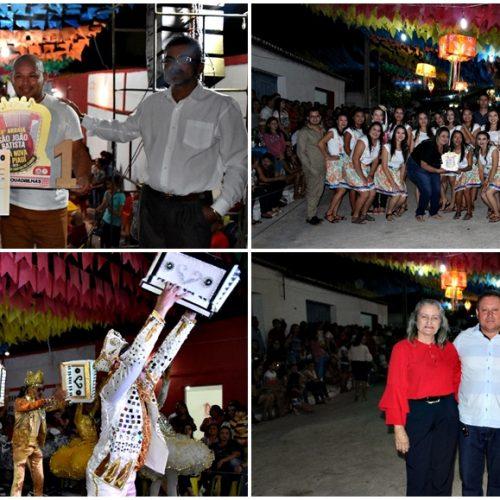 Apresentações culturais e show abrem o 18º Arraia São João Batista de Vila Nova do Piauí; fotos