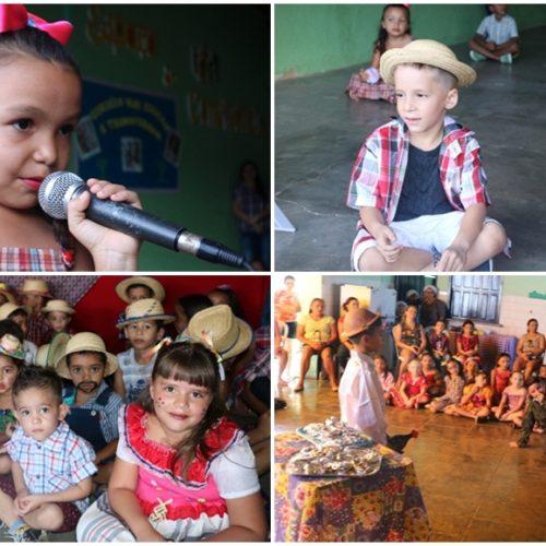 Escolas municipais de Santana encerram semestre letivo com projeto de Cordel