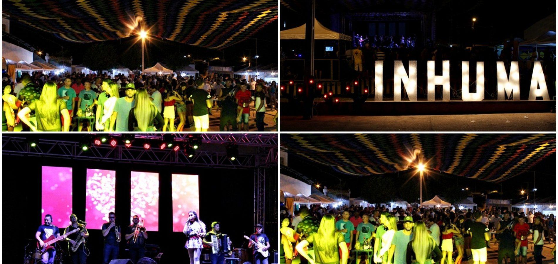 INHUMA 65 ANOS   Banda TBT e Farra da Gordinha abrem o 1º dia de shows do aniversário; veja fotos