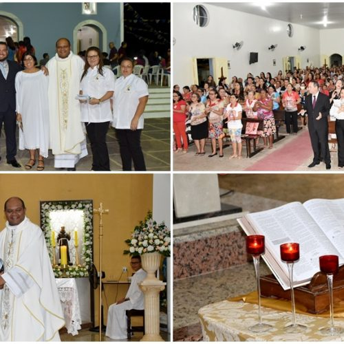 Igreja Católica de Alagoinha celebra 3ª noite dos festejos de São João Batista; autoridades participam