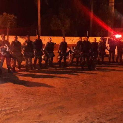 PM de Picos realiza operação contra tráfico de drogas e outros ilícitos no bairro Samambaia
