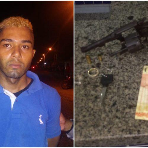 Dupla de suspeitos rouba posto de gasolina e leva R$ 1 mil