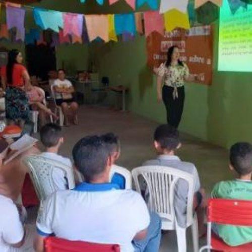 Secretaria de Saúde de Vera Mendes promove campanha 'Junho Laranja'
