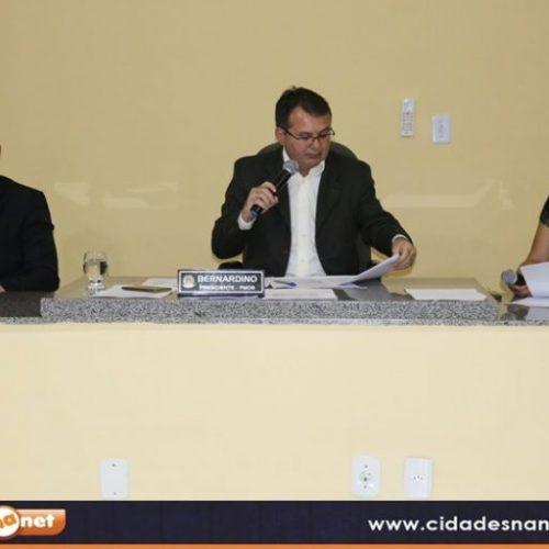 Sessão da Câmara de Belém do Piauí acontece nesta sexta-feira (07); veja a pauta
