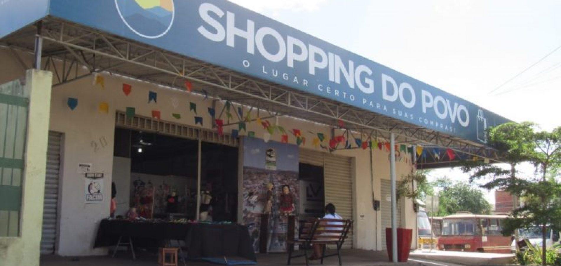 Prefeitura de Picos realiza atividades em celebração ao 1º ano do Shopping do Povo