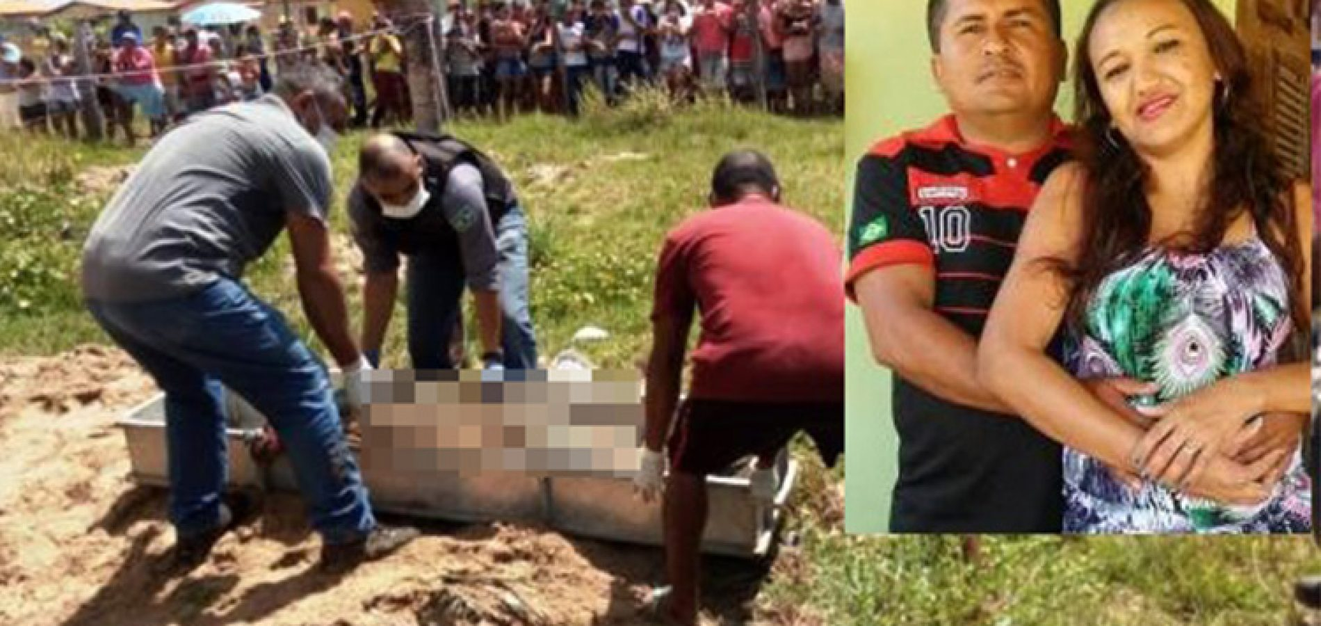 Suspeito registrou BO por desaparecimento após matar e enterrar a companheira