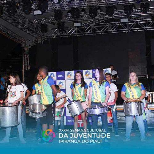 Grupos musicais de Santana se apresentam na XXXVI Semana Cultural da Juventude de Ipiranga do Piauí