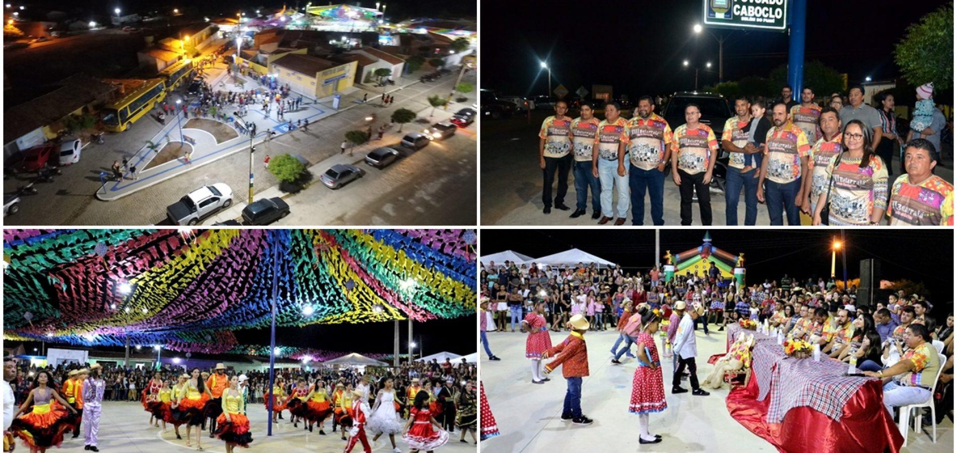 Em Belém, inaugurações e apresentações culturais abrem o Belarraiá do Caboclo Nordestino
