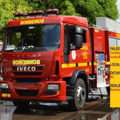 VILA NOVA│Corpo de Bombeiros realizará palestra sobre prevenção e combate à incêndios florestais