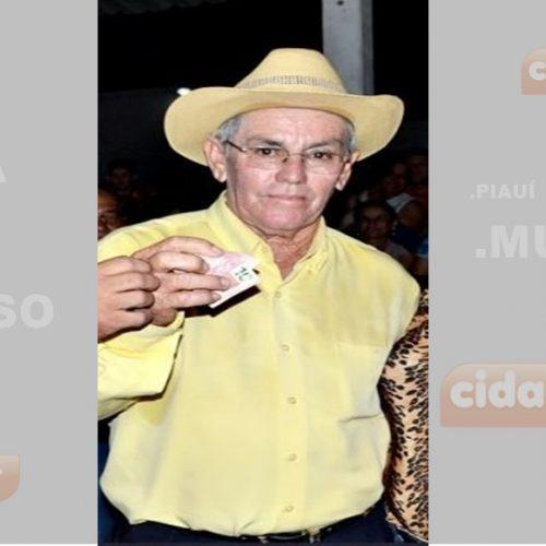 Morre aos 74 anos, Chico Pedro Ana, ex-vereador de Vila Nova do Piauí