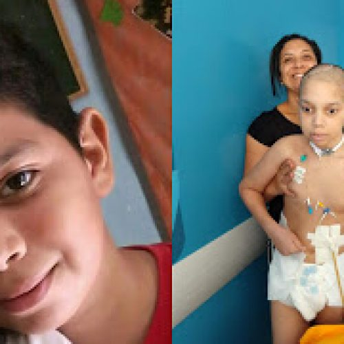 Em Santo Inácio do Piauí, família faz rifa para ajudar no tratamento de Gabriel Mendes. Ajude!