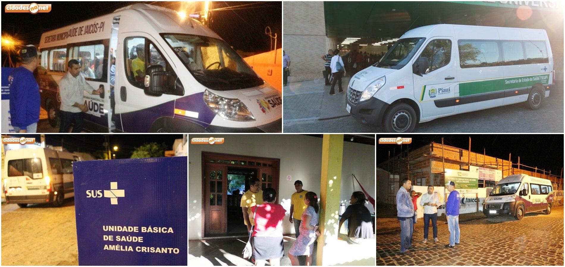 JAICÓS | Prefeitura oferece transporte, hospedagem e alimentação e leva cerca de 120 pacientes todos os meses para Teresina