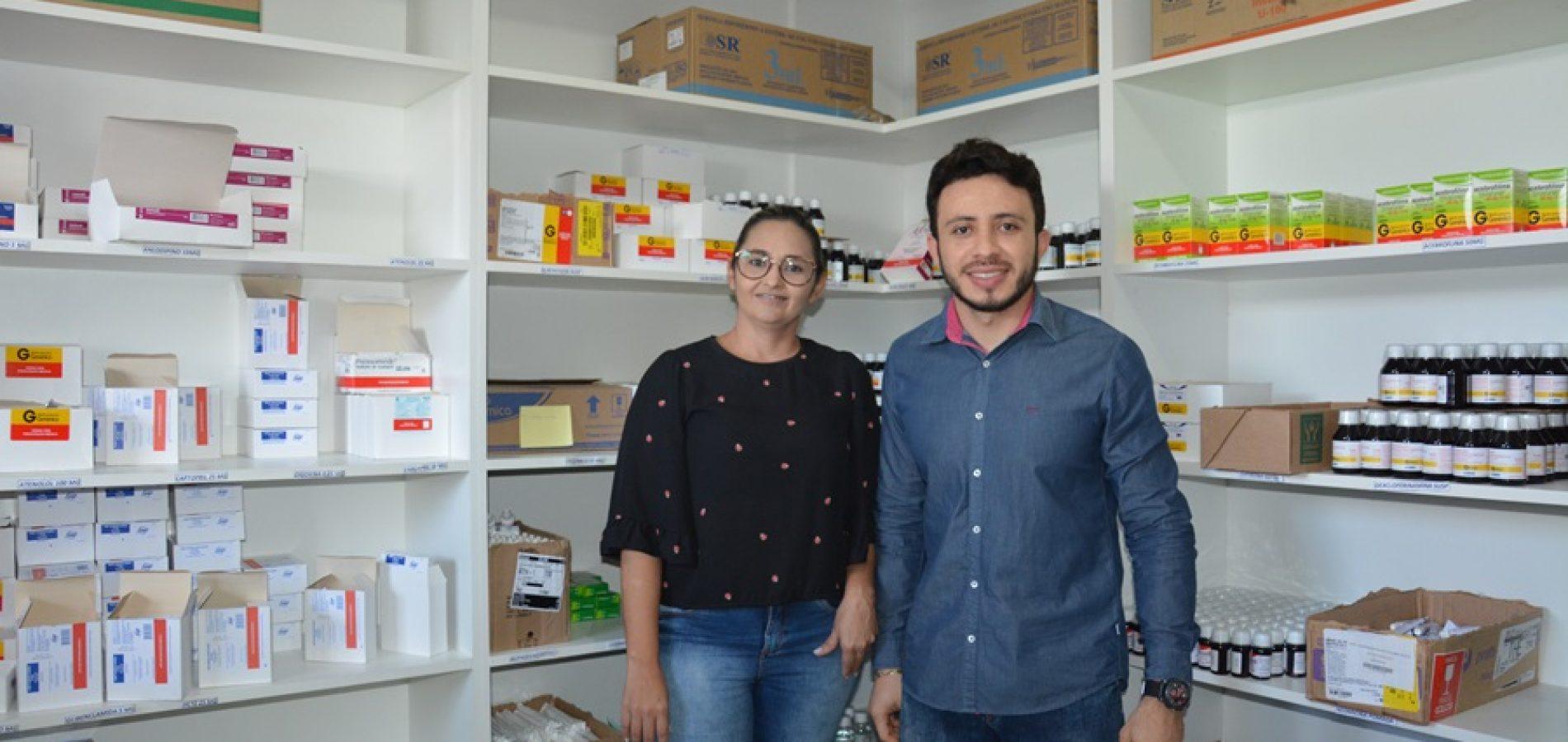 JAICÓS | Reformada Farmácia Básica tem melhor infraestrutura e agilidade na dispersão de medicamentos